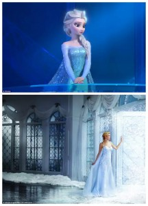 Disney wedding dresses
