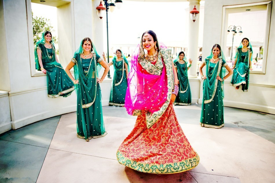 Special Wedding Dressing in Indian