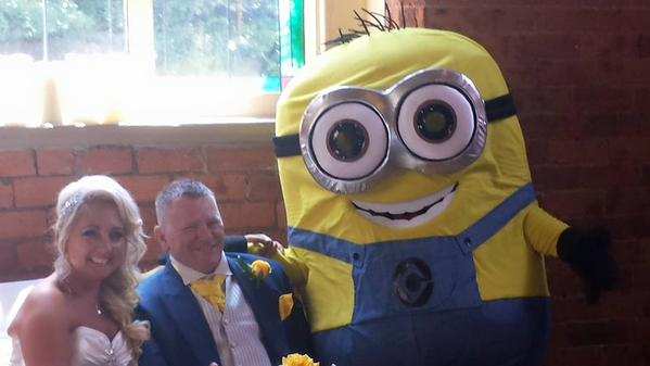 Minion-Themed wedding (