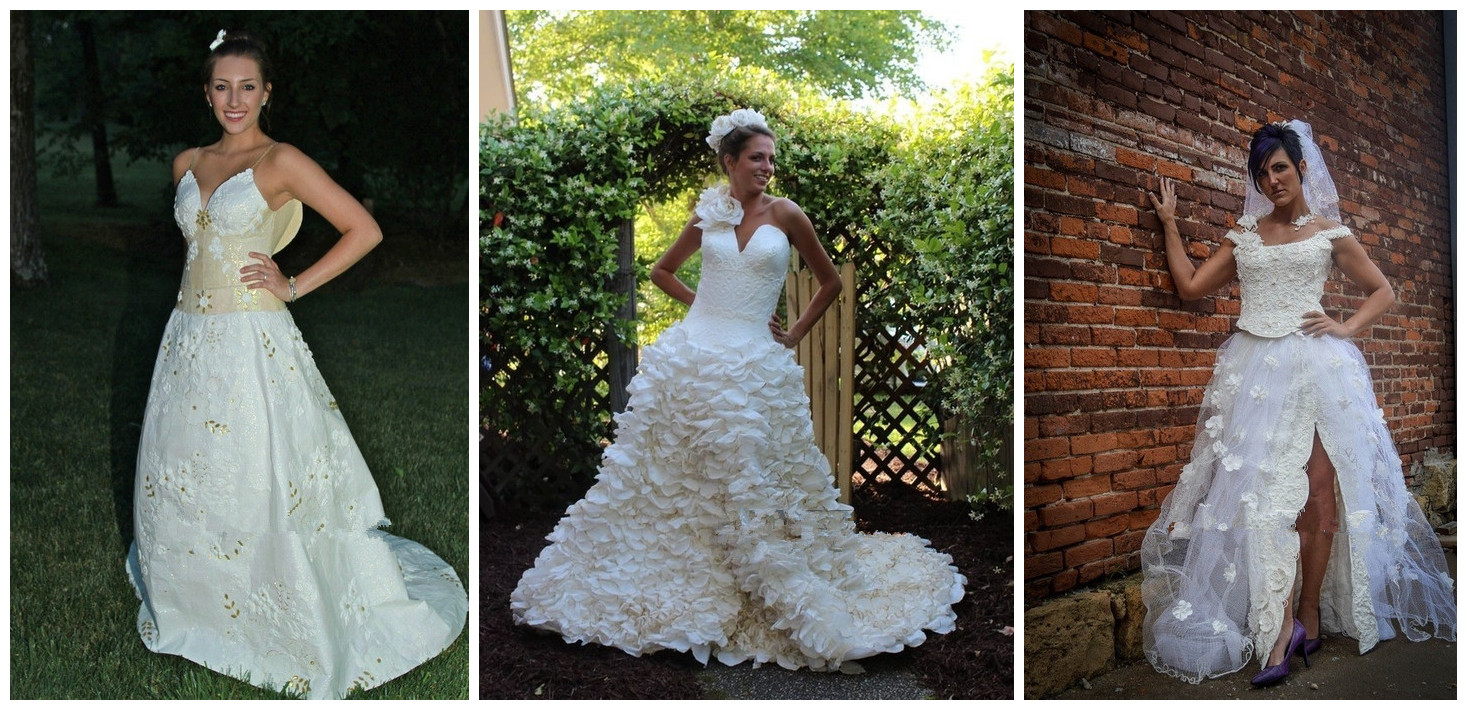 Toilet Paper Wedding Dresses Contest 2015 in New York