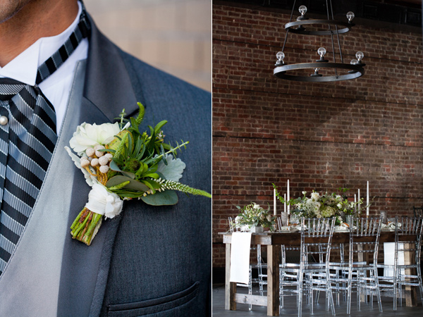 vintage industrial wedding