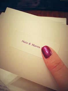 Wedding Invitations Write The Child S Name