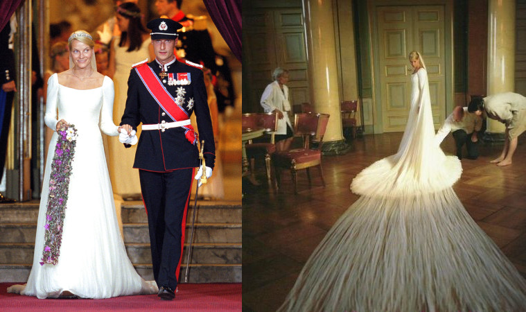 The Most Beautiful Princess Of Europe Madeleine Sweden Got Married In 2017 A Pure White Wedding Dress Added More Romance To Her