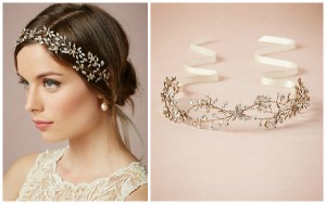 Bride Flower Crown Headband-3